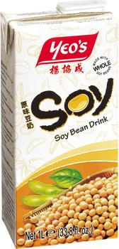 boissons au soja aux plantes yeo 39 s boisson au lait de soja 1l. Black Bedroom Furniture Sets. Home Design Ideas