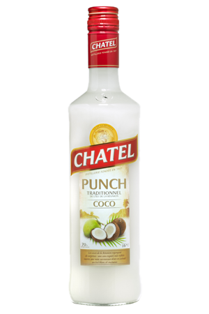 Punch coco traditionnel CHATEL 16°  70 cl